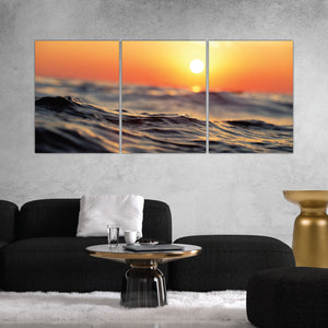 Sunrise Sunset Ocean Beach Print