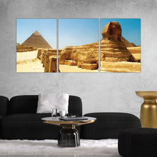 Load image into Gallery viewer, Great Pyramids of Giza, Egypt Print