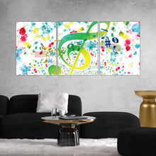 Load image into Gallery viewer, Music Abstract Art Print
