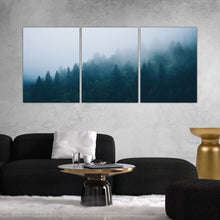 Load image into Gallery viewer, Foggy Forest Photography Print