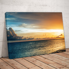 Load image into Gallery viewer, Sunrise Sunset Ocean Beach Print