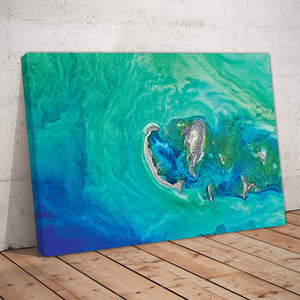 Abstract Ocean Art Print