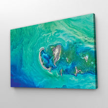 Load image into Gallery viewer, Abstract Ocean Art Print