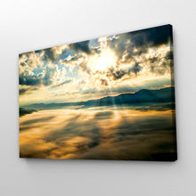 Load image into Gallery viewer, Sunrise Sunset over Mountains Print