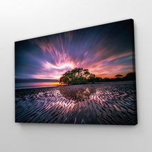 Load image into Gallery viewer, Glowing Sky Sunset Nature Print