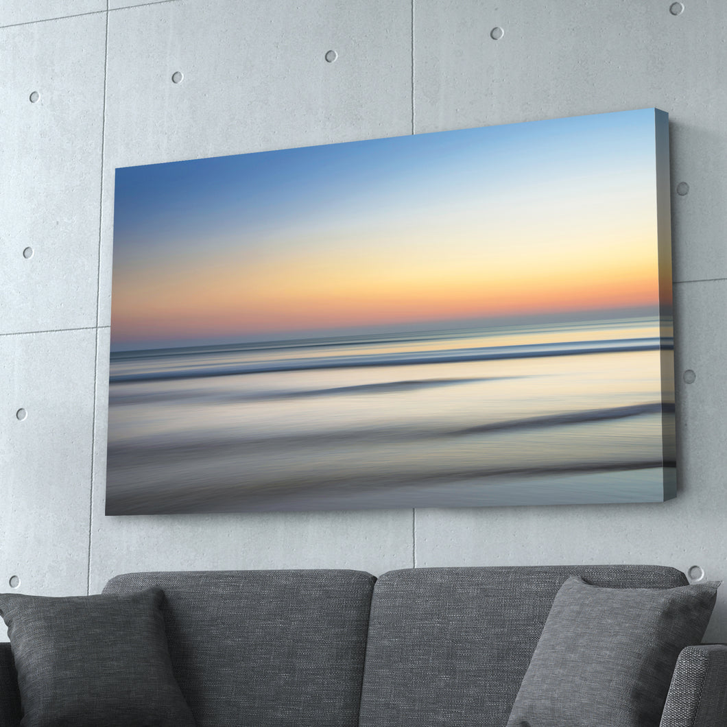 Sunset over Water Print