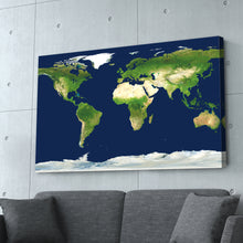 Load image into Gallery viewer, World Map Print