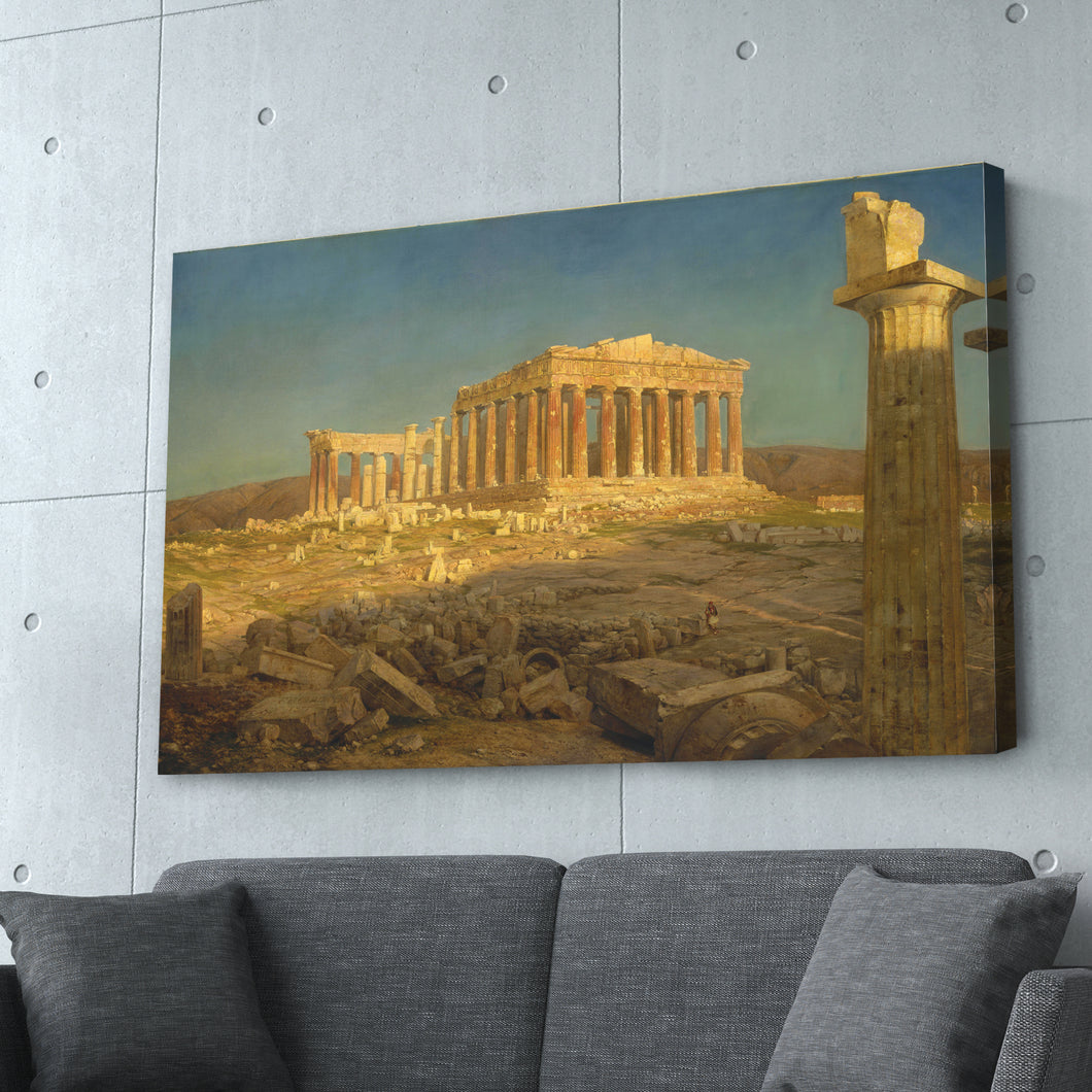 Parthenon by Frederic Edwin Church