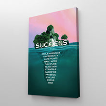 Load image into Gallery viewer, Paradise of Success Motivational Print