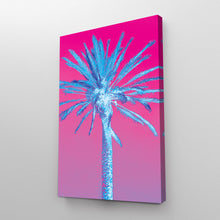 Load image into Gallery viewer, Retro Palm Tree Art Nature Print