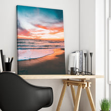 Load image into Gallery viewer, Sunrise Sunset on the Beach Print