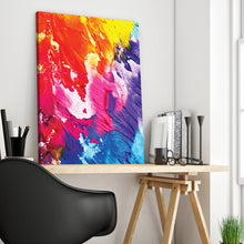 Load image into Gallery viewer, Colorful Abstract Art Print