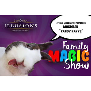 family magic show, San Diego, things for kids, magic show for kids, kid magic show, magic for children