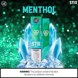 Puff STIX Disposable Bar - Menthol - Puff Labs