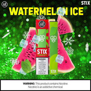 Puff STIX Disposable Bar - Watermelon ICE - Puff Labs