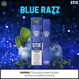 Puff STIX Disposable Bar - Blue Razz - Puff Labs