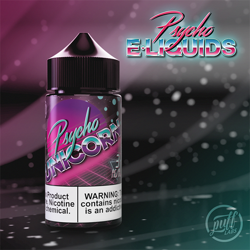 Puff Labs Psycho Unicorn E-Liquid 30ML and 100ML