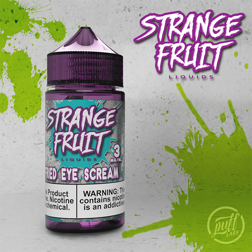 Puff Labs Strange Fruit Fried Eye Scream E-Liquid 30ML and 100ML