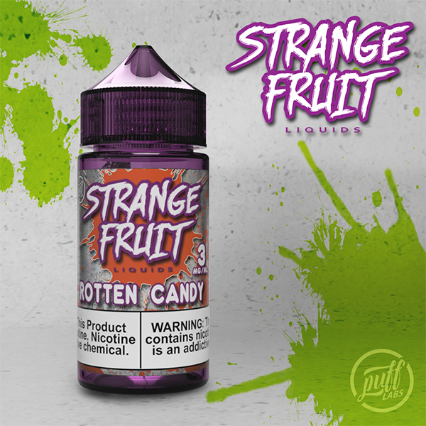 Puff Labs Strange Fruit Rotten Candy E-Liquid 30ML and 100ML