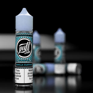Puff Labs | Vanilla Custard E-Liquid | 60ML - Puff Labs