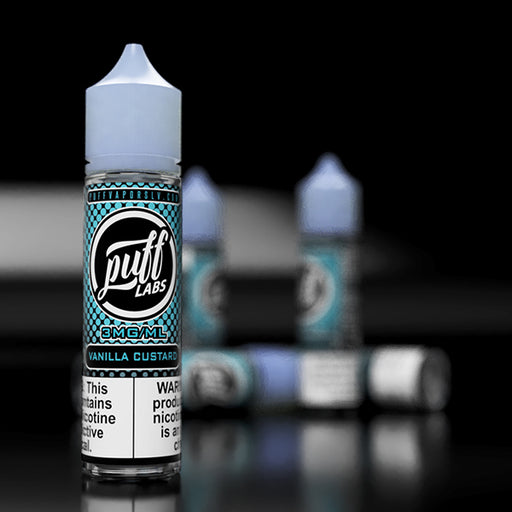 Puff Labs Vanilla Custard E-Liquid 60ML