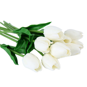bouquet tulipes blanches