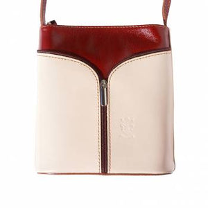 Leather Crossbody Bag - Tiramisu Shoes