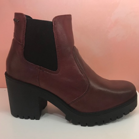 Burgundy Platform - Tiramisu Shoes