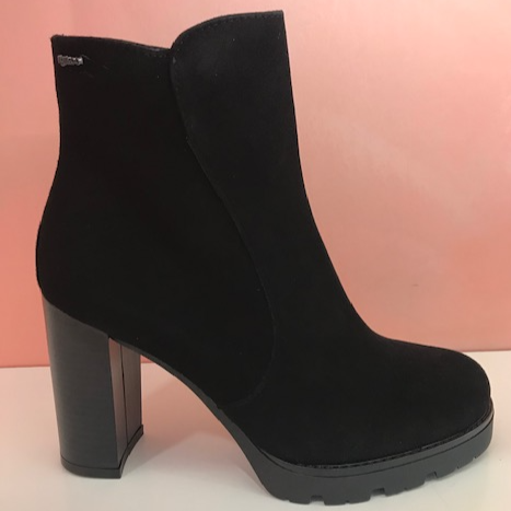 Black Suede Platform - Tiramisu Shoes