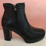 Black Nero Giardini Platform - Tiramisu Shoes