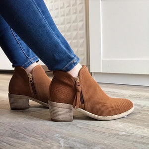 Tobacco Ankle Boot - Tiramisu Shoes