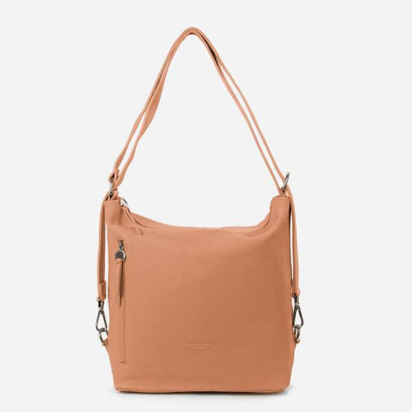 Convertible Calf Leather Bag - Tiramisu Shoes