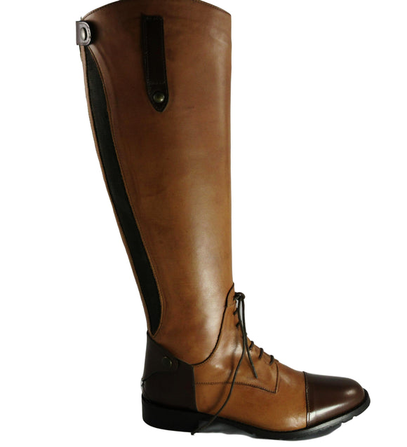 Emanuele Crasto Vintage Knee Boot - Tiramisu Shoes