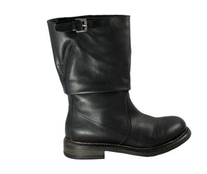 Divine Follie Calf Leather Boot - Tiramisu Shoes