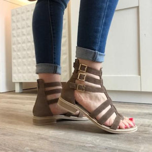 Gladiator Sandal - Tiramisu Shoes