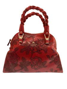 Handcrafted Calfskin Printed Bag - Tiramisu Shoes