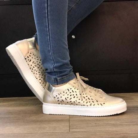 Champagne Sneakers - Tiramisu Shoes