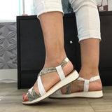 Flat Memory Foam Sandals - Tiramisu Shoes