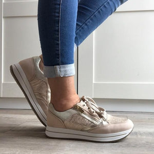 Memory foam Sneakers - Tiramisu Shoes