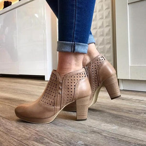 Spring/Summer Ankle Boots - Tiramisu Shoes