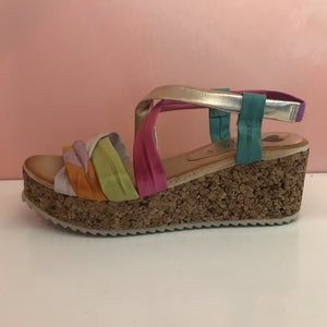 Platform Memory Foam Sandals - Tiramisu Shoes
