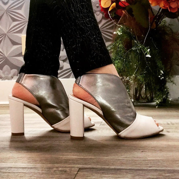 Open Toe Mule - Tiramisu Shoes