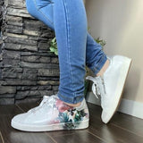 Tropical Jungle Leather Sneakers