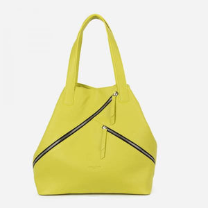 Lime Calfskin Bag - Tiramisu Shoes