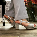 Silver Chanel - Tiramisu Shoes