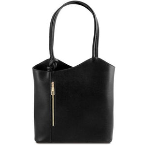 Shoulder Bag convertible in Backpack - Tiramisu Shoes