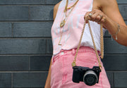 Lara Gold Chain Camera Strap
