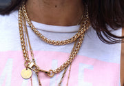 Nikki Gold Chain Camera Strap