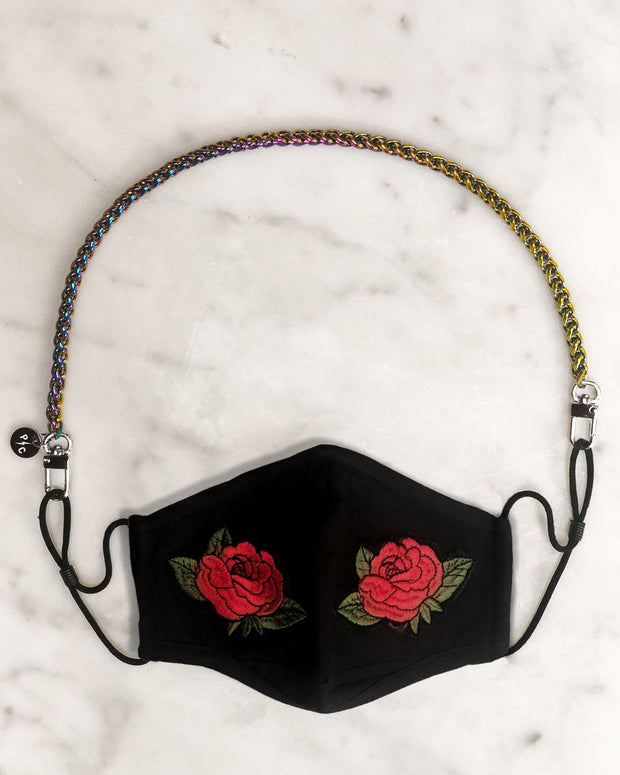 Mermaid Chain & Rose Mask