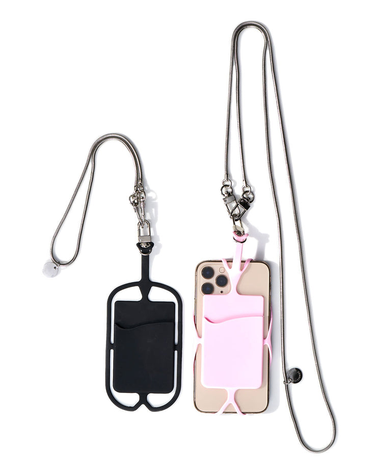 Sandra Cell Phone + Lara Mini Chain Strap